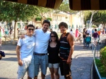 Disneyland farewell: me, Micah, Christie, and Jeff.